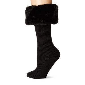 Brand new UGG faux fur socks